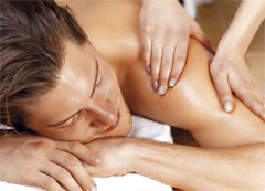 Aromaöl Massage bei PhysioWelt Meissen